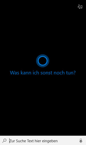 Cortana Eingabe: Sprachassistent von Microsoft in Windows 10